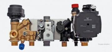 Poza Centrala termica pe gaz in condensatie combi ARCA PIXEL MX PN - grup hidraulic
