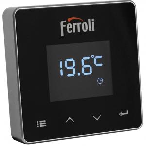 Poza Termostat ambiental cu radiofrecventa RF si WiFi FERROLI CONNECT - emitator