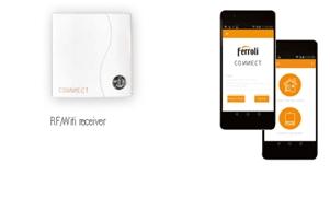 Poza Termostat ambiental cu radiofrecventa RF si WiFi FERROLI CONNECT - conexiune WiFi