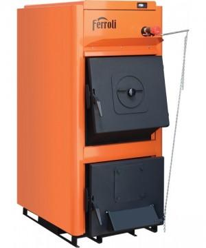 poza Centrala termica pe lemn Ferroli FSB PRO - 25 kW - NOU !