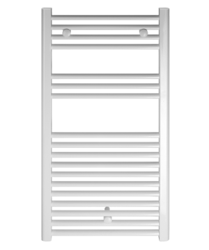 poza Radiator port-prosop FERROLI model VENUS WHITE curbat 500x800